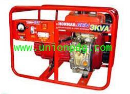 เครื่องปั่นไฟดีเซล เครื่องกำเนิดไฟฟ้าดีเซล 3KVA / DH600 220 V