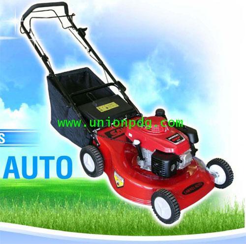 รถเข็นตัดหญ้า LAWN 21นิ้ว มีถุงเก็บหญ้า / HONDA GXV160 (แบบอัตโนมัติ)