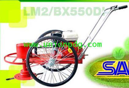 รถเข็นตัดหญ้า สองล้อจักรยาน / HONDA GX160