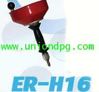 เครื่องล้างท่ออุดตัน เครื่องทะลวงท่ออุดตัน งูเหล็ก ER-H16 /10mm ยาว 5 เมตร