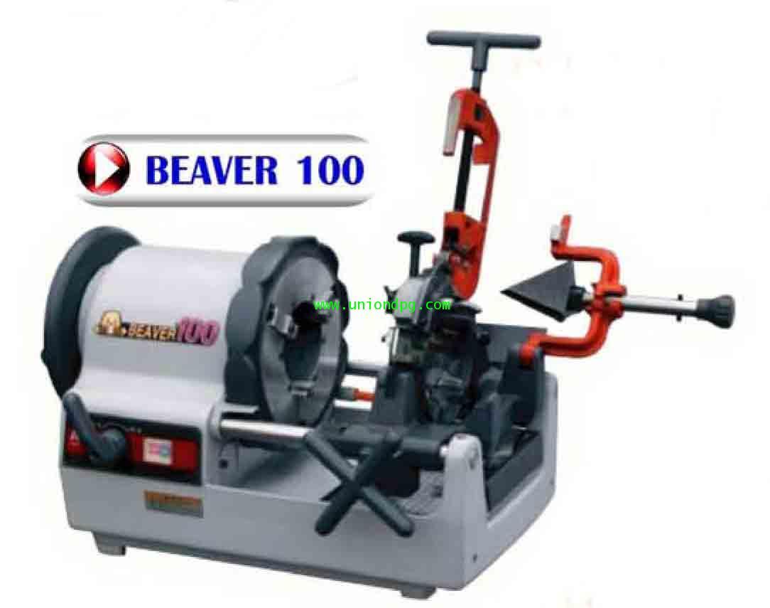 เครื่องต๊าปเกลียวไฟฟ้า ASADA /BEAVER100/AUTO  (1/2-4นิ้ว)