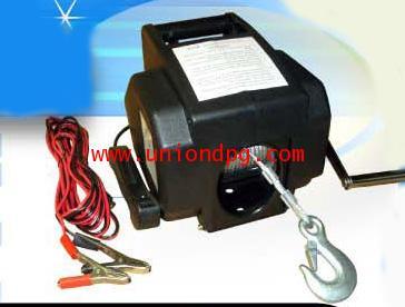รอกสลิงไฟฟ้า กว้านสลิงไฟฟ้าติดรถยนต์ 4WD /KDJ-200D