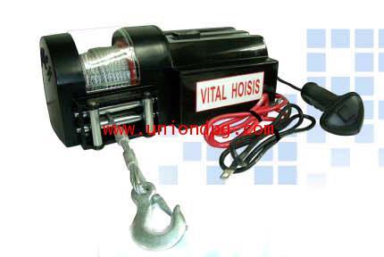 รอกสลิงไฟฟ้า กว้านสลิงไฟฟ้าติดรถยนต์ 4WD /KDJ-450D