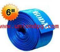 สายส่งน้ำ PVC 6 นิ้ว /100เมตร