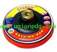 แป้นรองแผ่นขัด ตีนตุ๊กแก Paddle disc with magic tape