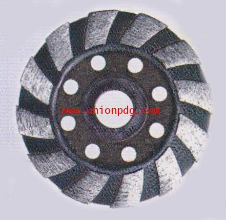 ถ้วยเพชรขัดหินแกรนิต Diamond Cup Wheel