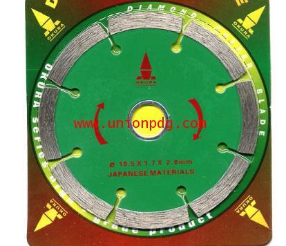 ใบเพชรตัดคอนกรีต Diamond Wheel