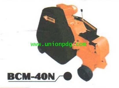 เครื่องตัดเหล็กเส้นเหล็กข้ออ้อยไฟฟ้า Bar Cutter Machine /BCM-40N