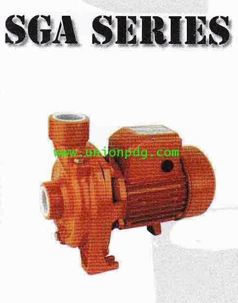 ปั๊มน้ำหอยโข่ง ขนาด 1.1/2 นิ้ว 1 แรงม้า HIDROSTAR / SGA series