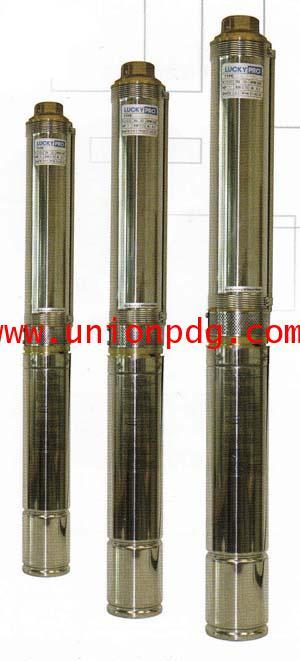 ปั๊มน้ำบาดาล สเตนเลส บ่อ4 นิ้ว LUCKY PRO / LP-4R series