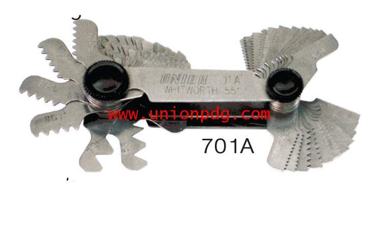 หวีวัดเกลียว Screw pitch gauges UNIOR/701A