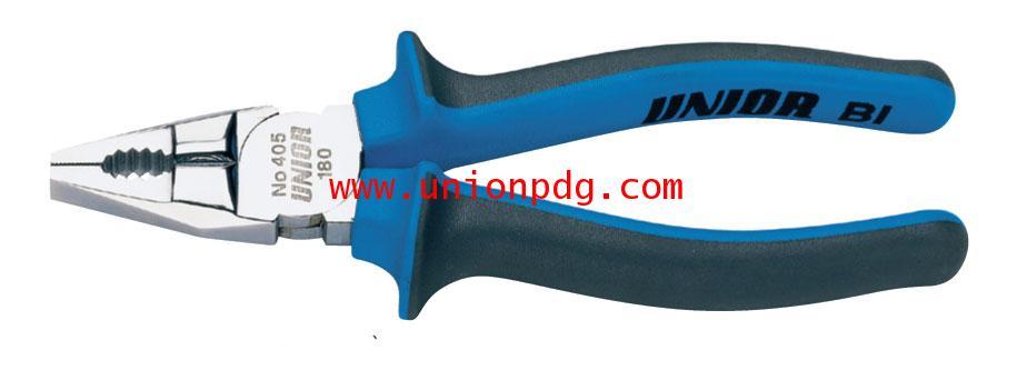 คีมปากจิ้งจก Combination Pliers UNIOR/405