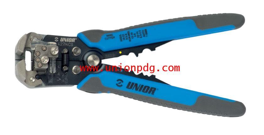 คีมย้ำหางปลา Tubular Cable Lug(Crimp grip Pliers) UNIOR/427/4CG