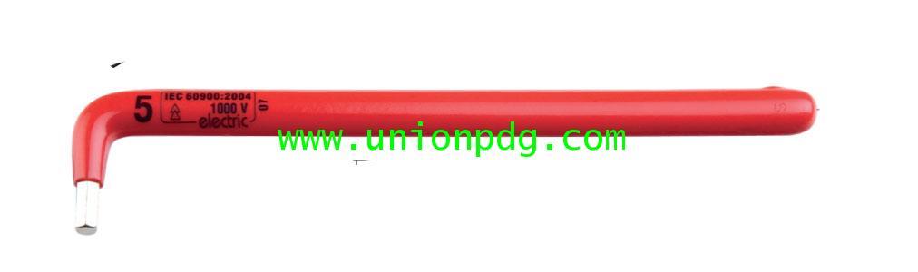 ประแจหกเหลี่ยมตัวแอลกันไฟฟ้า หุ้ม VDE UNIOR/220/3LVDEDP
