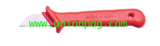 มีดคัตเตอร์ตัดสายไฟกันไฟฟ้า Insulated Knife UNIOR/385VDE
