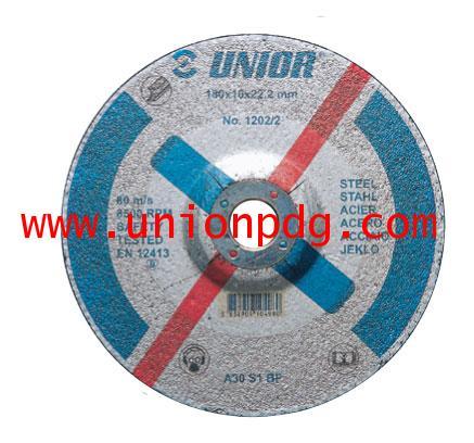ใบเจียร์ Depressed center grinding wheels UNIOR