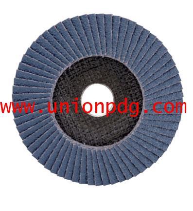 แผ่นขัดกระดาษทราย Flap Disc UNIOR/1216