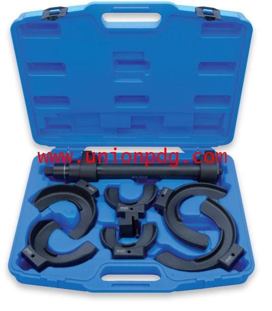 เครื่องถอดสปริงโช้คอัพรถยนต์ Suspension compressor for shock absorber springs UNIOR/2051