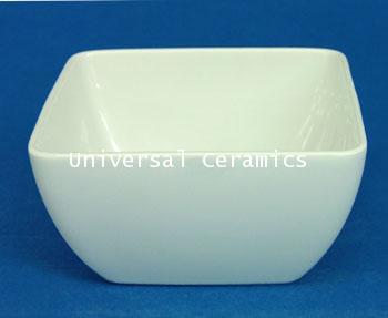 ชามสี่เหลี่ยม 12.5 ซม. Royal Porcelain รหัส P4122 - 6 ใบ