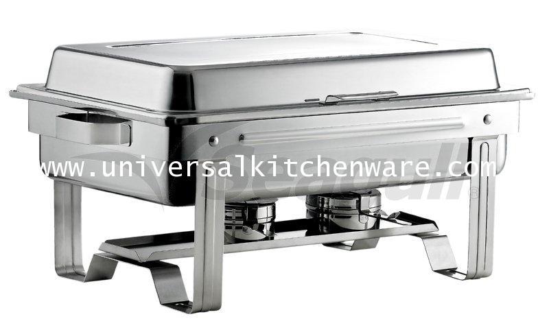 อุปกรณ์เครื่องครัว ชุดอ่างอุ่นอาหารขาพับใหญ่ ตรานกนางนวล (ซีกัล)