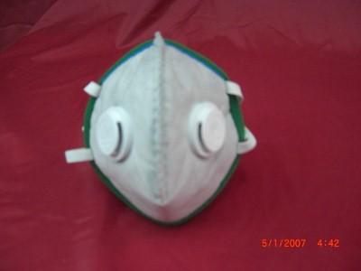 หน้ากากปิดจมูกแบบกรองและฟอกอากาศในตัว(TG 20 SV)แบบมีวาวคู่ แบบพับเก็บใส่กระเป๋าได้