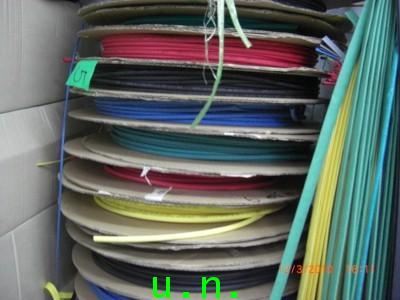 ท่อหดWOER (1.5 mm - 100 mm)มี 5 สี (ดำ-แดง-เหลือง-เขียว-ฟ้า)