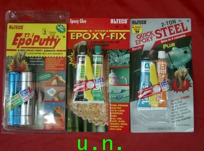 กาวอีพ็อกซี่(epoxy)สีเหล็ก-สีใส,-กาวมหาอุด 2 ตันเป็นกาวอีพ็อกซี่ชนิดแท่งดินน้ำมันสารพัดประโยชน์