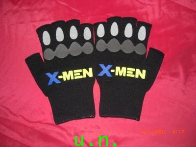 ถุงมือกันลื่นตัดนิ้วเอ็กซ์เมน(X-MEN)