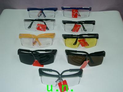 แว่นตาเซฟตี้กันสะเก็ดNO.287(คิ้วดำเลนส์ใส)(คิ้วดำเลนส์คละสี)(คิ้วสีเลนส์ใส)