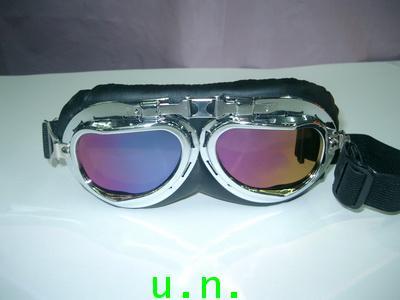 แว่นตาแฟชั่น กันสะเก็ด กันฝุ่น กันลม(เลนส์ใส)(เลนส์สี)