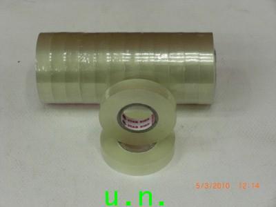 เทปกาวใสแกนเล็ก 1/2นิ้ว-3/4นิ้ว 36y(หลา)