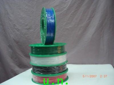 ลวดหุ้มพลาสติก ลวดหุ้มพลาสติกแบบด้านชนิดPVCแบบเส้นเดียว(ลวดด้าน)