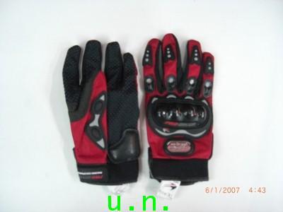 ถุงมือมอเตอร์ไซด์ PRO BIKER (โปร ไบร์เกอร์)กันกระแทก(แบบเต็มนิ้ว และ แบบตัดนิ้ว)