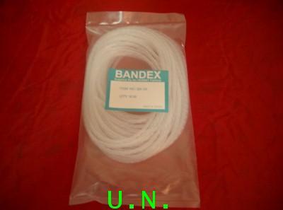 สายรัดเก็บอเนกประสงค์(ไส้ไก่)เบนเด็กซ์ BANDEX สีขาว-สีดำ (ยาว 10 เมตร)