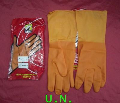 ถุงมือยางEAGLE(อีเกิ้ล)อย่างดีสำหรับ งานบ้าน งานอาหารและเครื่องดื่ม