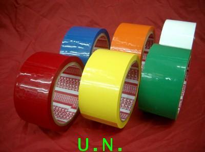 เทปโอพีพีแบบสี(COLORED OPP TAPE)(แบบเทปใสแต่เป็นสี)