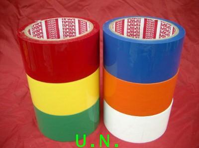 เทปโอพีพีแบบสี(COLORED OPP TAPE)(แบบเทปใสแต่เป็นสี) 1