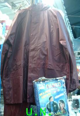 เสื้อกันฝนแบบ(เสื้อและกางเกง)แบบอย่างหนาสุด