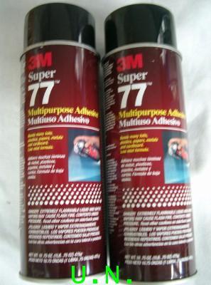สเปรย์กาว (3M 77 แบบติดแน่น 475g)--(3M 75 แบบลอกได้ 290g)