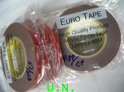เทปโฟมดำอะคริลิค2หน้า(ยูโร) (12mm*10เมตร)