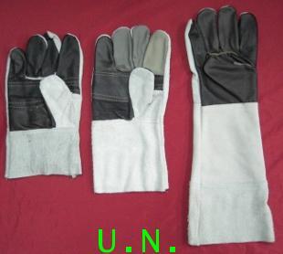 ถุงมือหนังท้องหน้ามือหนัง(สั้น)-ยาว-ยาวพิเศษ(10 นิ้ว-12 นิ้ว-16 นิ้ว)