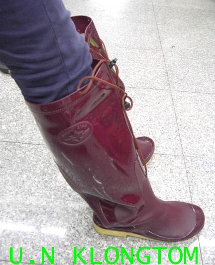 รองเท้าบู๊ทยางชาวนายาว18.5นิ้ว(ชาวนา หรือ แอร์โร่ สตาร์)