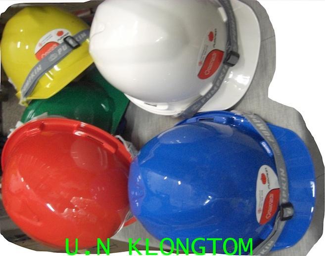หมวกนิรภัย(พัมคิน PUMPKIN)มาตราฐาน มอก.ผลิตจากABSพลาสติก แข็งแรง ทนทาน น้ำหนักเบา รับแรงกระแทกได้สูง
