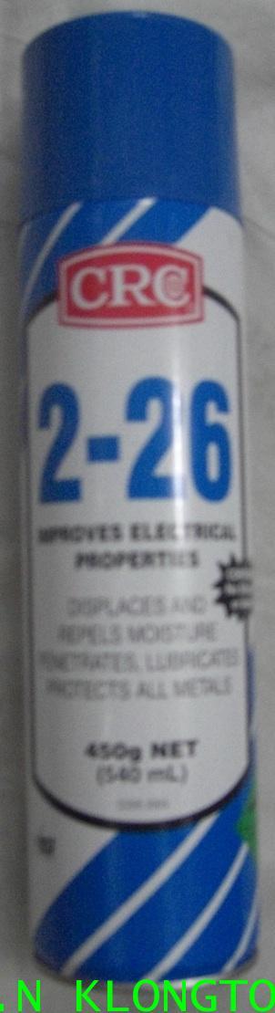 CRC 2-26 น้ำยาฉีดไล่ความชื้น ทำความสะอาด และป้องกันการกัดกร่อนสำหรับอุปกรณ์ไฟฟ้า 1