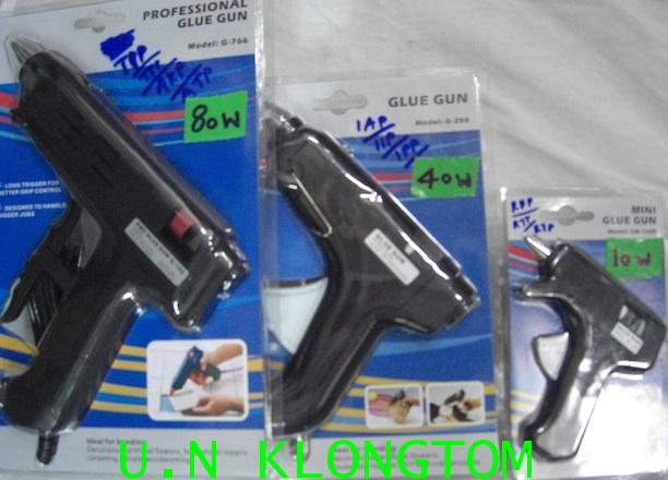 ปืนยิงกาวแท่งไต้หวันอย่างดี(แบบ10W,แบบ40W,แบบ80W)PROFESSIONAL GLUE GUN