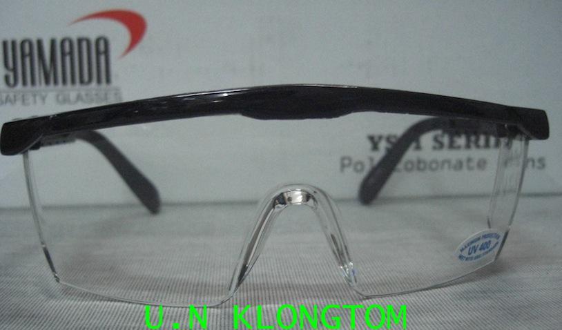 แว่นตาเซฟตี้(ยามาดะ YAMADA)เลนส์ใส เลนส์โพลีคาร์บอเนต