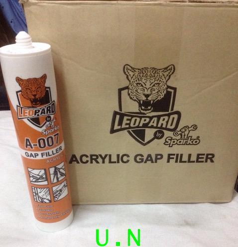 กาวยาแนวอะคริลิคอเนกประสงค์SPARKOตราหัวเสือ(LEOPARD A-007)
