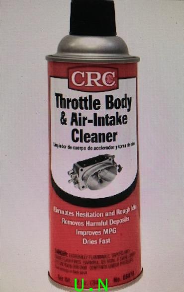CRC Throttle Body  Air-Intake สเปรย์ล้างระบบท่อไอดีของหัวฉีด ป้องกันปีกผีเสื้อ FUEL INJECTOR AIR INT
