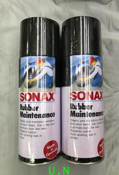 SONAX น้ำยารักษายาง ช่วยเคลือบเงาล้อRUBBER MAINTENANCE (No.309) 400ml