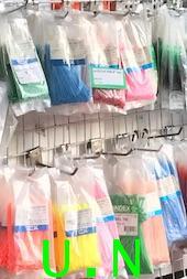 เคเบิ้ลไทร์(Cable Ties) (TCK)แบบถูกและประหยัด หลายสี เข้ม สวยงาม
